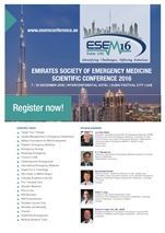 EMIRATES SOCIETY OF EMERGENCY MEDICINE SCIENTIFIC CONFERENCE 2016